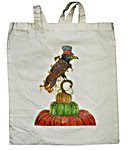 Top Hat Raven Tote