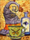 Halloween Tea Card