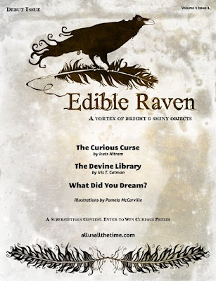 Edible Raven Cover
