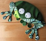 Hot Frog wheat bag tutorial