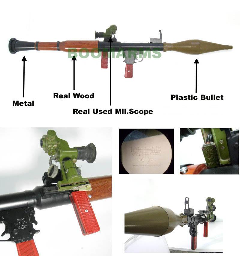 Rpg Paintball Gun Airs...