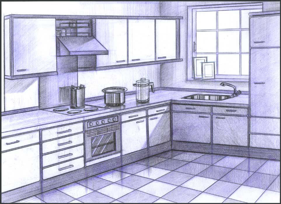 Illustrations Kitchen