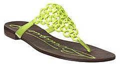 neon sandal