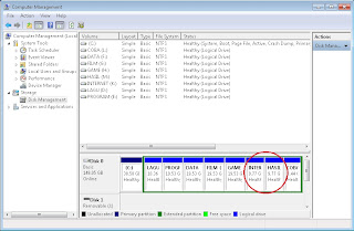 Partisi Hardisk tanpa Software