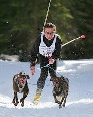 Skijoring  Chester 2008