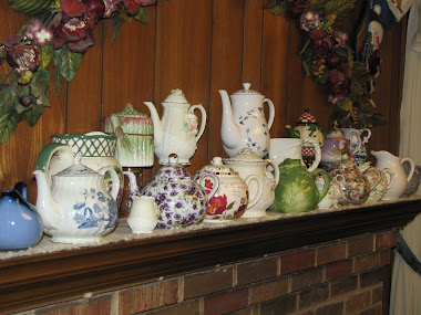 Teapots on Mantle