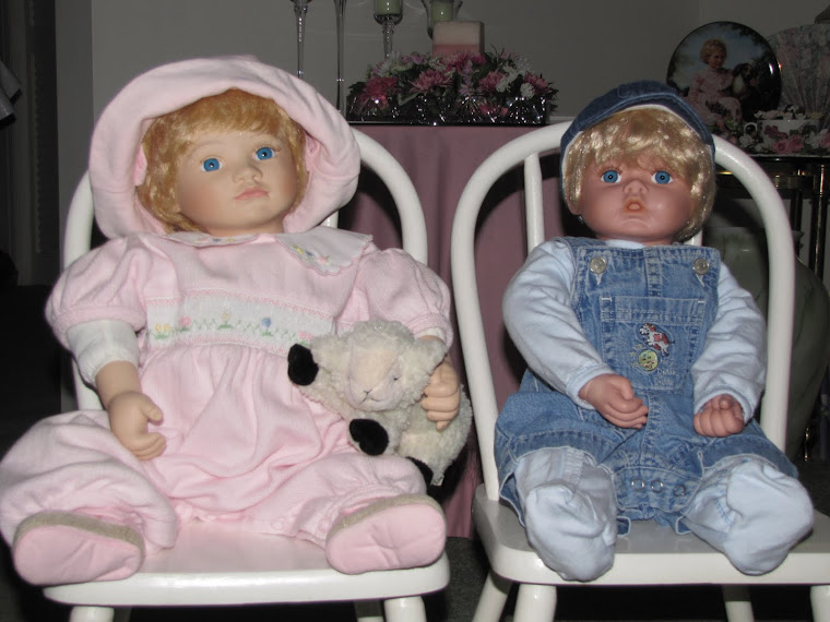 Girl and Boy Dolls