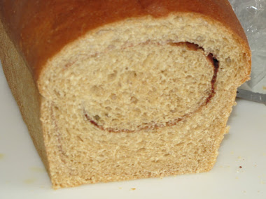Cinnamon Swirl Honey-Wheat Bread