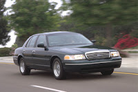 With a combined fuel economy of 18 miles a gallon, a 2000 Ford Crown Victoria LX is eligible for trade-in-under the 'Cash for Clunkers' program.