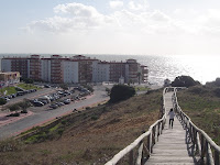 Parque Dunar de Matalascañas e início do edificado