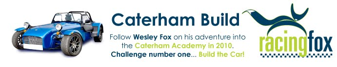 Wesley Fox Caterham Academy and Roadsport Champion