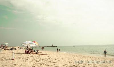 beach in Tavira