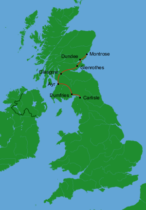 Britain by Bus Day 2: Montrose to Carlisle
