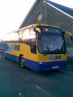 First bus in Thurso