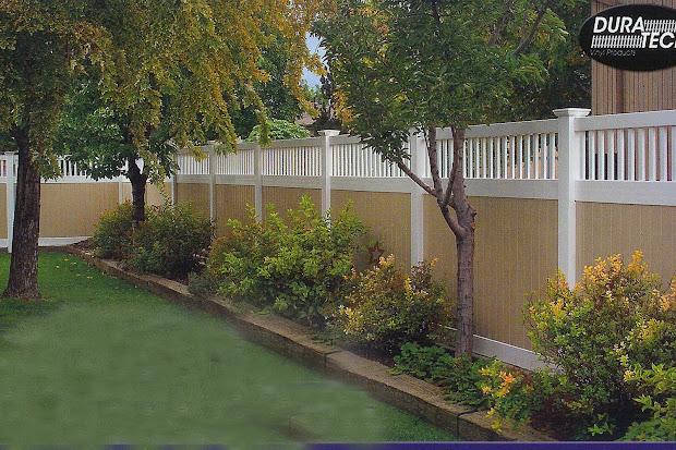 landscape - fence line