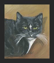 a cat painting I did