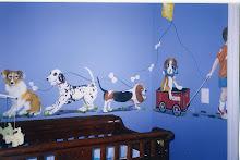 A mural for a boy