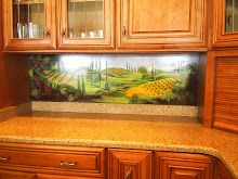A backsplash I painted