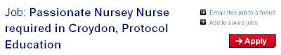 Passionate nursey nurse