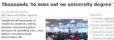 BBC News article and headline