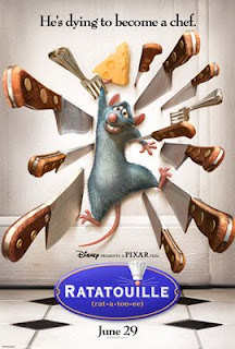 Movie poster for Ratatouille