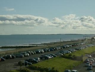 Partial sea view from Shoreline hotel