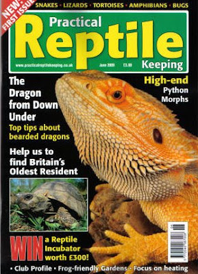 Front cover of Practical Reptile Keeping