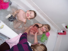 rubba dub dub...three kids in the tub!