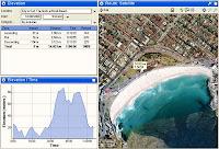 Eagle's view of Bondi Beach