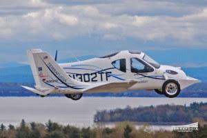 Terrafugia Transition mobil terbang pertama di dunia