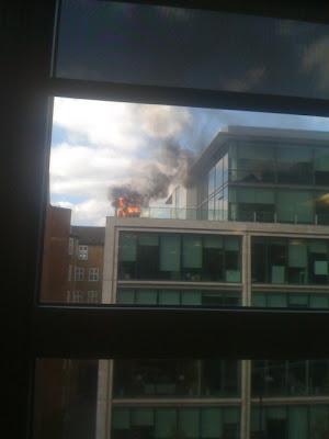 Google UK on Fire