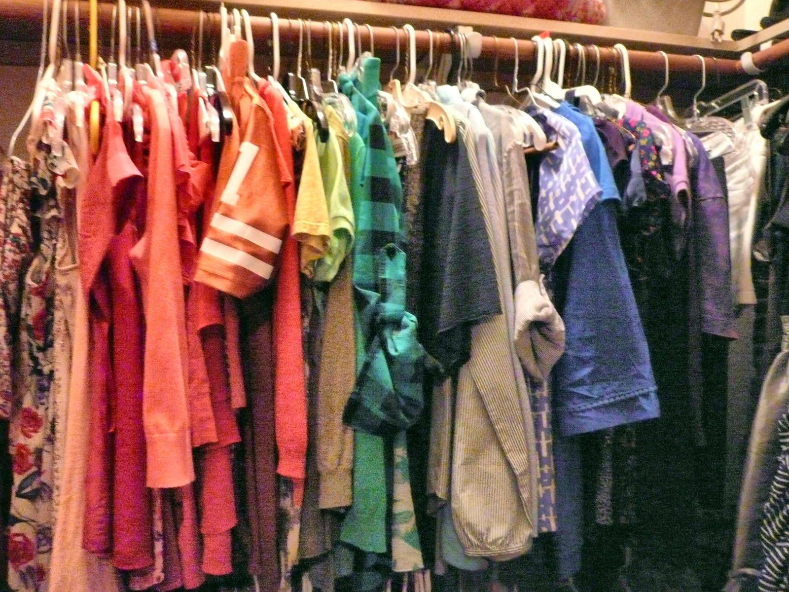 Color Coordinating Closet
