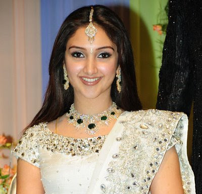 sridevi designer diamond set
