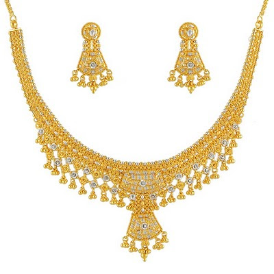 Latest Fashion of Gold Necklace Designs