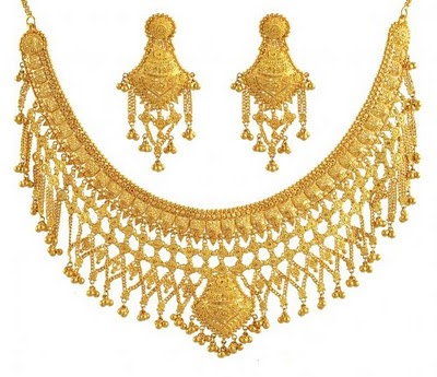 Indian Necklace designs in Gold