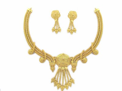 New Fashion Gold Necklace Designs