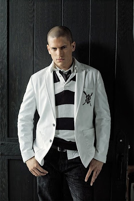 Wentworth Miller Cool Hairstyles