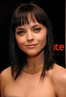 Christina Ricci Black Hairstyle