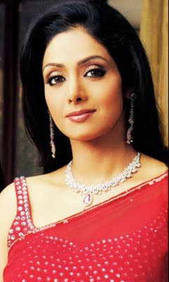 Bollywood actress sridevi in Designer Diamond Jewellery