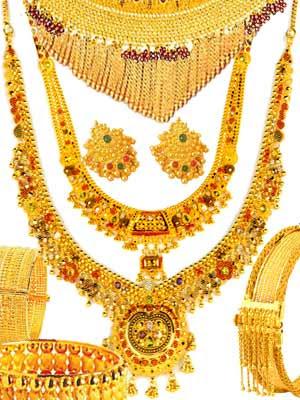 Indian Jewellery Design Indian Bridal Gold Jewellery Set 2010