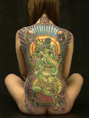 ganesha tattoos. girlfriend Ganesha Tattoo