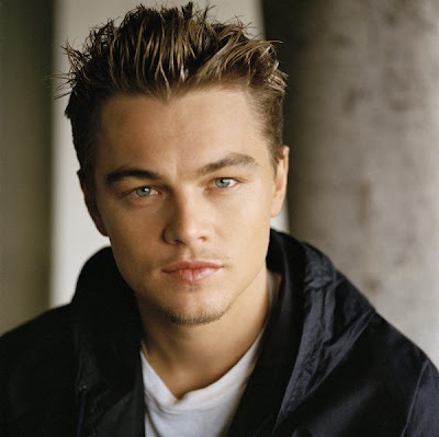 Celebrity Leonardo DiCaprio Short Hairstyle