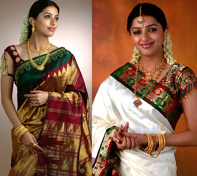 Bhoomika Chawla in Traditional South Indian Jewellery