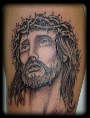 Religious Tattoo Design - Jesus Tattoo
