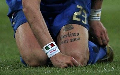 Marco Materazzi Tattoos - Celebrity Tattoo