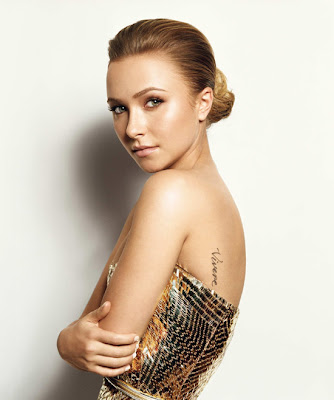 Hayden Panettiere Tattoo - Celebrity tattoo