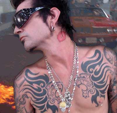 Celebrity Tommy Lee Tattoo. WWE Superstar Jeff Hardy Tattoo Design