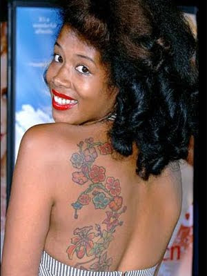 Kelis Tattoos - Celebrity Tattoo