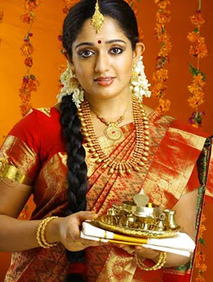 Kavya Mahadevan in South Indian Jewellery Set