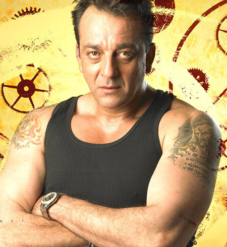 Actor Sanjay Dutt Tattoo - Bollywood Tattoo